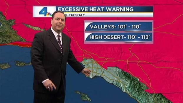 [LA] AM Forecast: Dangerously Hot