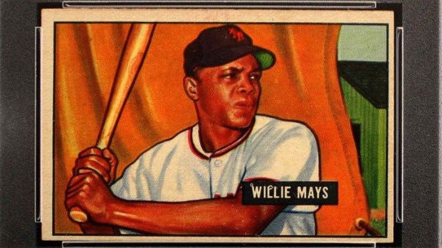Rare Willie Mays Baseball Card Stolen From Rob Schneiders Encino