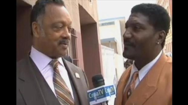 [BAY] Raw Video: Shareef Allman Interviews Jesse Jackson