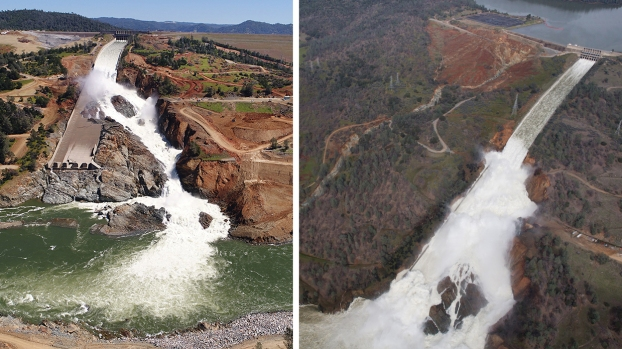 [LA GALLERY Updated 6/20] Photos: What It Takes to Repair a Damaged Spillway at the Nation's Tallest Dam