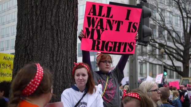 Washington D.C. Marches for Women's Rights