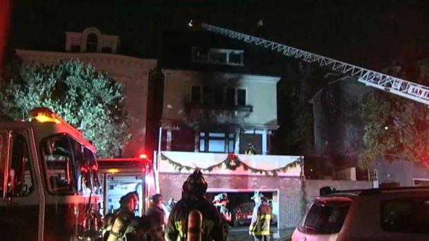 [BAY] 1 Dead, 2 Hurt in San Francisco House Fire