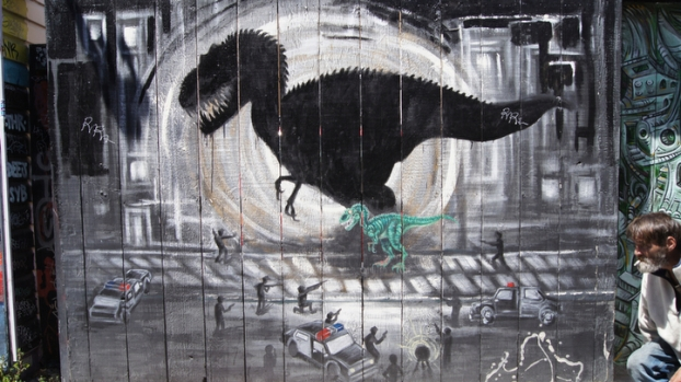 IMAGES: Mission Murals and Graffiti