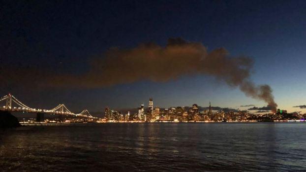 Blaze Engulfs Building in SF's North Beach Neighborhood