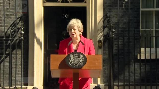[NATL] British PM Theresa May Announces Resignation