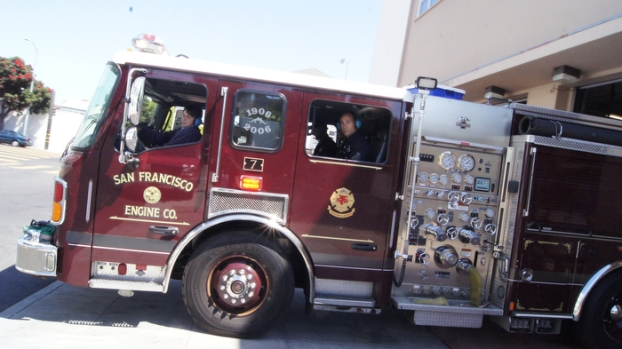 Images of SFFD Station 7