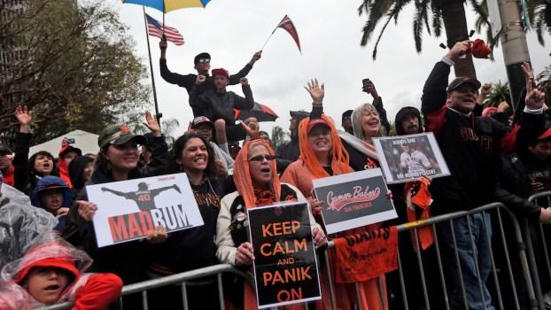 Longtime Giants Fans Rejoice Team's World Series Success