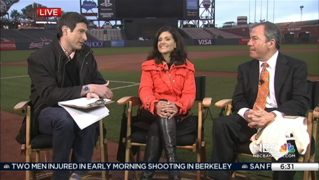 Giants VP Talks Opening Day Festivities