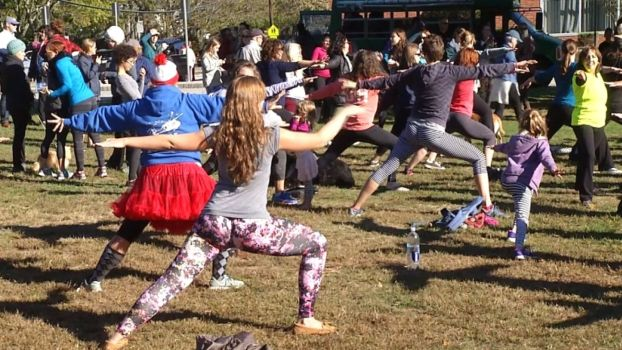 Yoga Pants Parade Protests Op-Ed in Rhode Island