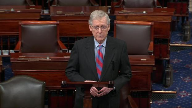 McConnell: Trump to Sign Bill, Declare Emergency