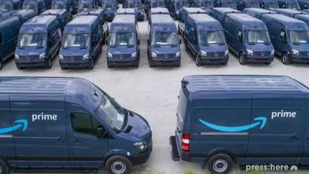 Who Drives Amazon Vans? Not Amazon