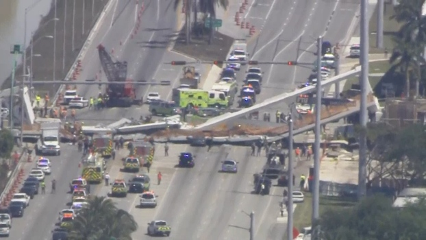 6 Killed After Bridge Collapses in Miami