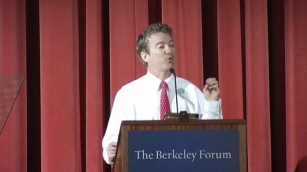 [BAY] Rand Paul Visits UC Berkeley, Criticizes Obama