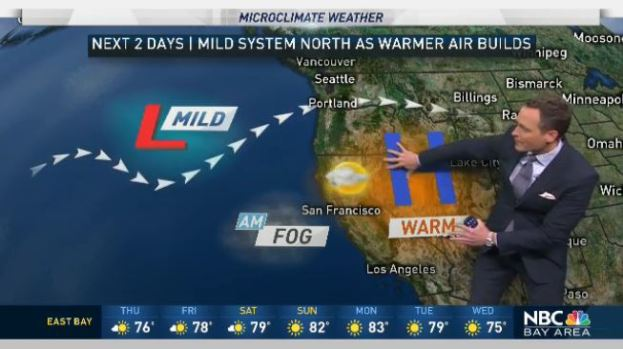 [BAY] Jeff's Forecast: Warming Thursday