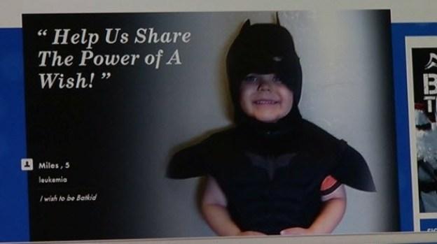 [BAY] Thousands Helping Transform SF Into Gotham City to Make Boy's Wish Come True