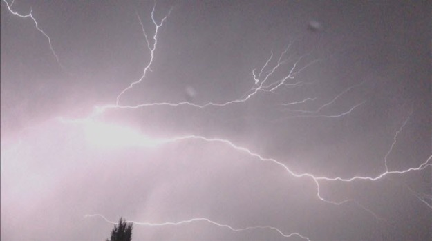 [BAY] RAW VIDEO: Lightning Strikes in Bay Area