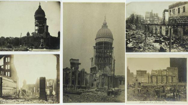 Devastation in San Francisco Following 1906 Quake, Fire