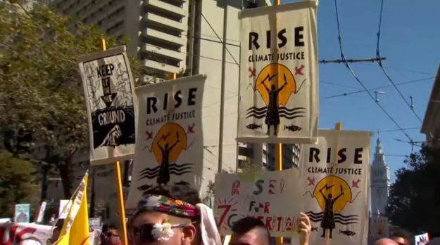 [BAY] Thousands 'Rise for Climate, Jobs and Justice' in SF