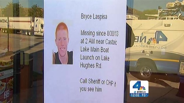 [LA] Search for Missing Student Expands in Castaic