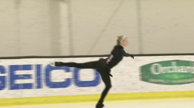 [BAY] Sharks Ice Skaters Root for Polina Edmunds
