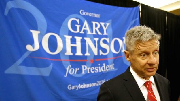 Gary Johnson Wins Libertarian Party Nomination