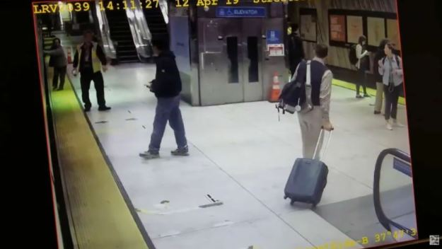 Graphic Video: Woman Dragged Under Muni Train