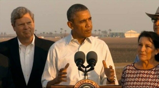 [BAY] President Obama Sees California Drought Damage Firsthand