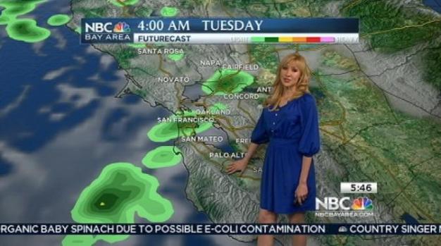 [BAY] Cool & Cloudy President's Day; Rain Ahead