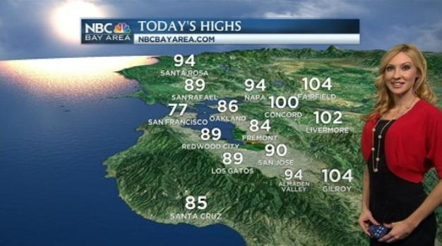 [BAY] Hot & Hazy Conditions Inland With Phenomenal Beach Weather Thursday