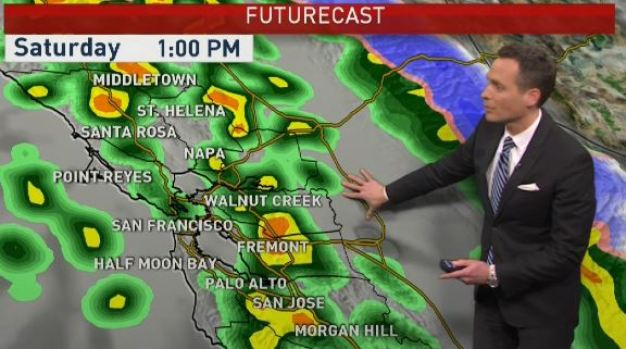 Jeff's Forecast: Weekend Rain & Wind
