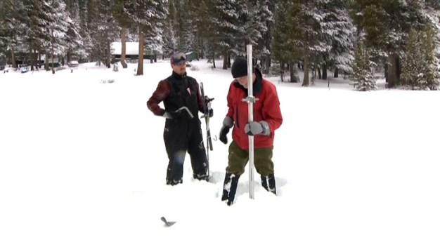 First Snow Survey of Season; Water Below Average