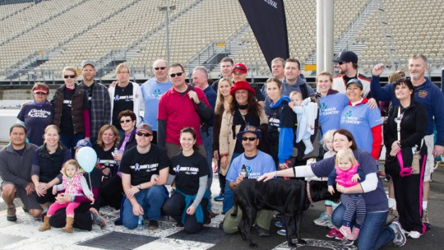 March Against Stomach Cancer at Sonoma Raceway