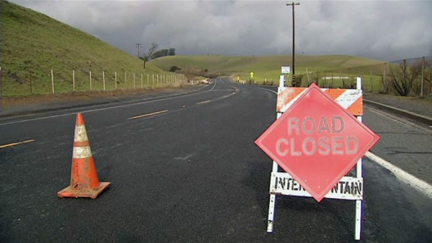 Storm Causes Traffic Problems in East Bay
