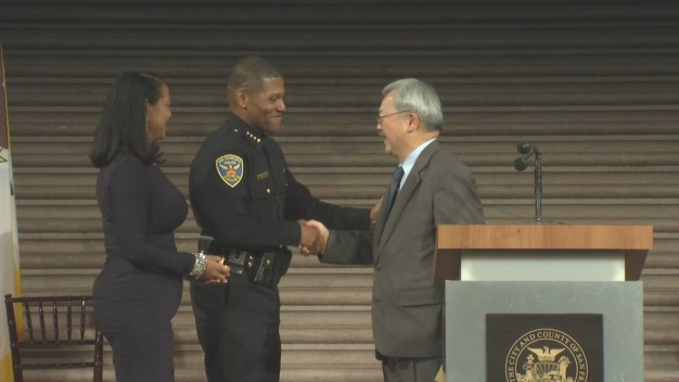 New San Francisco Police Chief Sworn In at City Hall