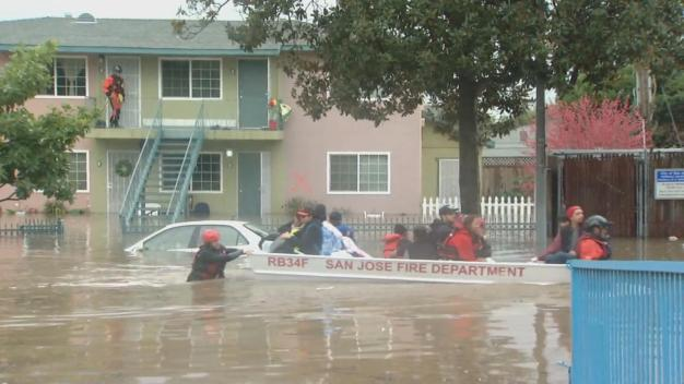 Some Mandatory Evacuations Lifted Following Historic Flooding in San Jose