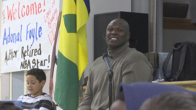 Former Warriors Player Adonal Foyle Releases Children's Book