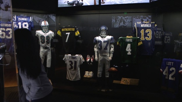 Santa Clara Fine Art Museum Goes Full Football for Super Bowl