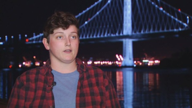 Woman Feared for Her Life When Concrete Fell in Bay Bridge Tunnel