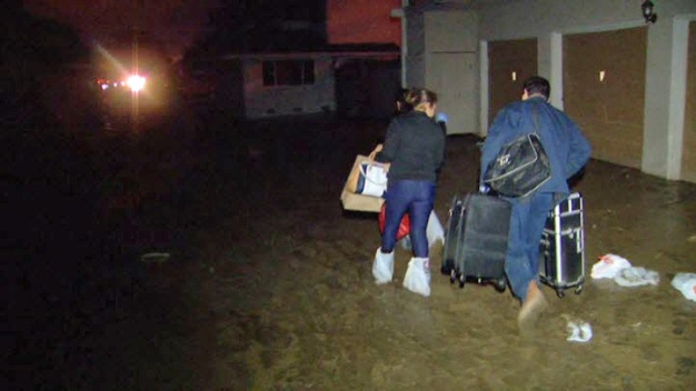 Residents Return After Historic Flooding in San Jose