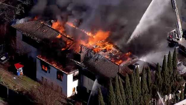 Abandoned Oakland Library a 'Total Loss' Following Fire