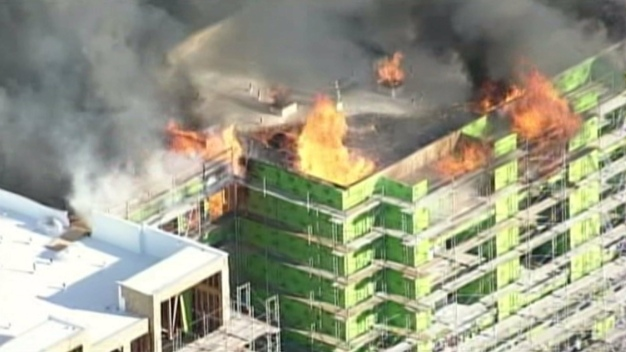 WATCH LIVE: Winds Hamper San Francisco Fire Hot Spots