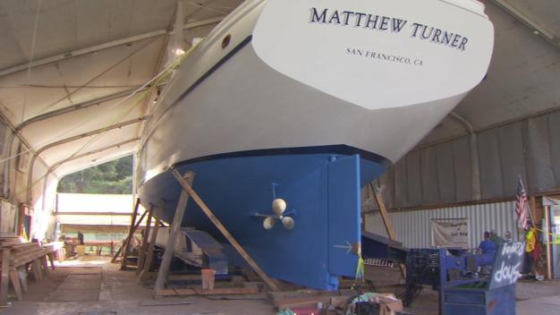 Volunteer-Built Ship Unveiled in Sausalito