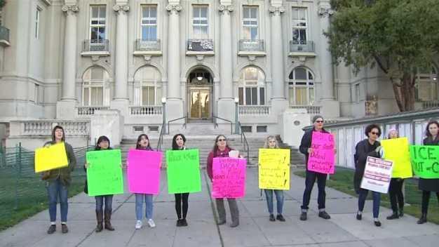 ICE Raid in Berkeley Sparks Protest