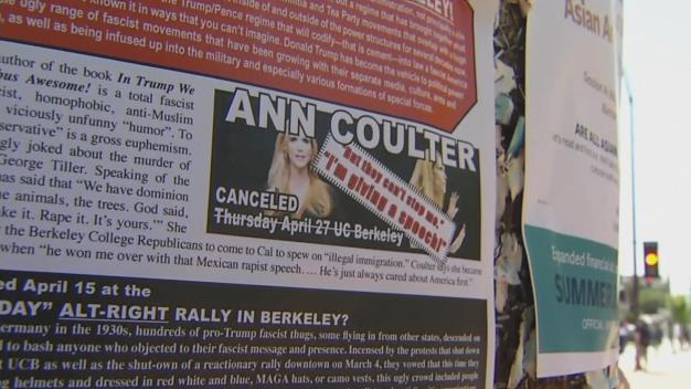 Ann Coulter, UC Berkeley Clash Over Canceled Visit