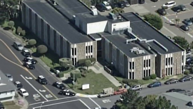Daly City Police Surround Medical Building
