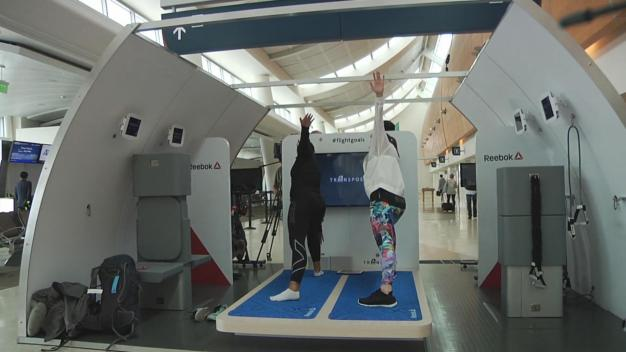 Airbus Tests On-Board Exercise Pads at San Jose Airport