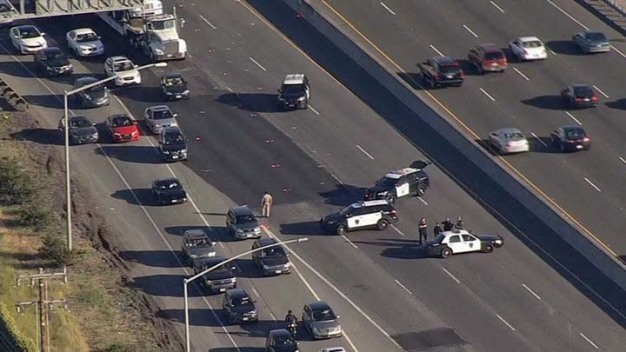 Deadly Police Shooting Shuts Down Hwy. 101 in San Mateo