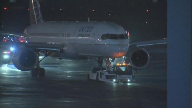 San Francisco-Bound United Flight Evacuated at Newark Airport