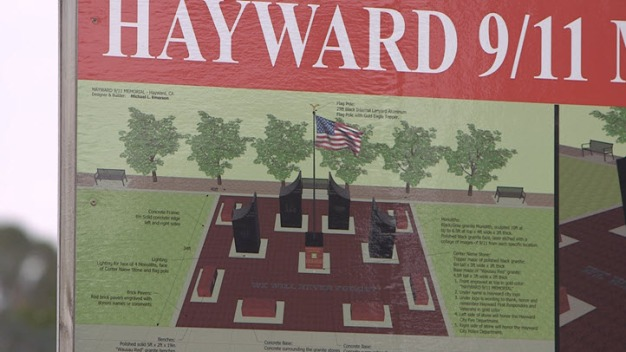 Hayward's 9/11 Memorial to Be Unveiled Monday
