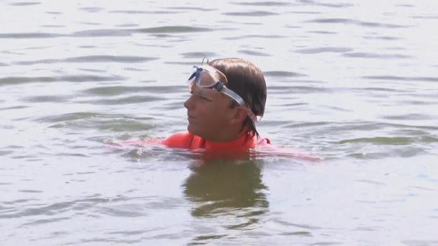 Nine-Year-Old Boy Who Swam Alcatraz in San Jose